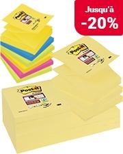 À partir de 8,39€ Post it colour notes Super Sticky