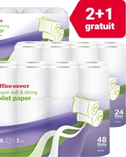 À seulement 3,99€ Rouleau de papier toilette Office Depot®