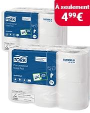 Économisez plus de 15% Rouleau de papier toilette Tork