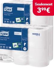 Économisez plus de 35% Rouleau de papier toilette Tork