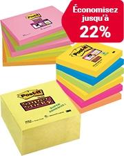 À partir de 5,79€ Notes Post-it Super Sticky