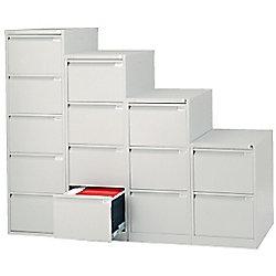 prezzo Classificatore Bisley per cartelle sospese 2 cassetti nero in offerta