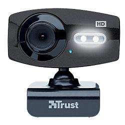 Webcam Trust Elight Full HD 1080P nero