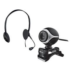 Set Webcam + Microfono Trust Exis