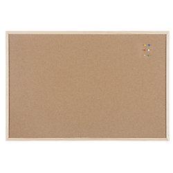 Lavagna in sughero niceday 90 (l) x 60 (h) cm marrone