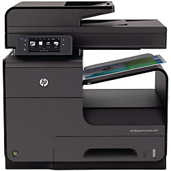 Stampante HP X476DW a getto d'inchiostro a colori nero