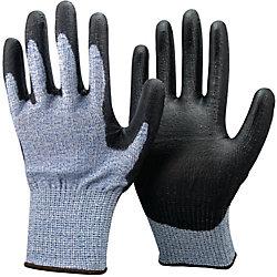 Guanti Di protezione fibra di vetro taglia 10 azzurro-nero