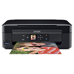 Stampante multifunzione a getto di inchiostro Epson XP-332 a colori nero