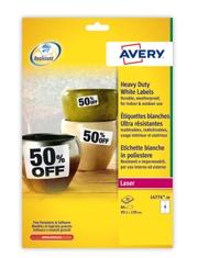 A partire da €27,19 Etichette in poliestere Avery