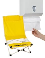 Sedia pieghevole da spiaggia Gratis Carta asciugamani Papernet