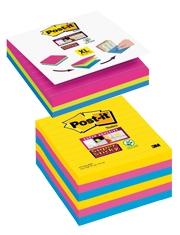 Cubo 3 colori Gratis Foglietti Super Sticky 101 x 101 mm