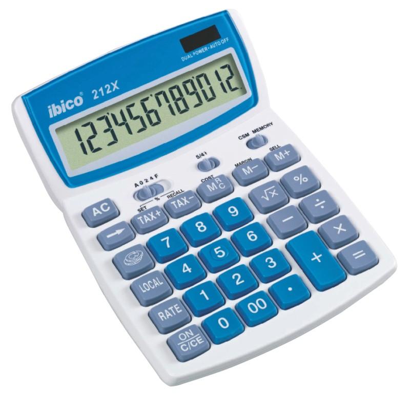 Vorschaubild von Rexel Tischrechner 212X Blau