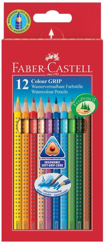 Faber-Castell Farbstifte Colour-Grip Farbig sor...