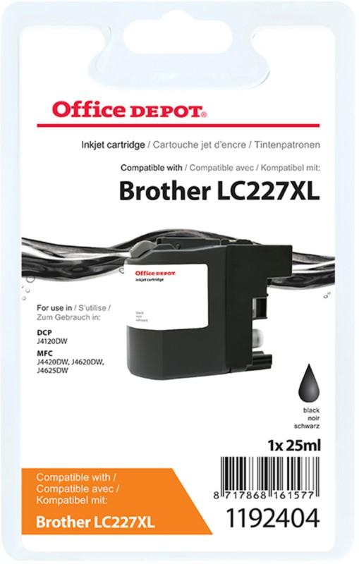 Vorschaubild von Office Depot Kompatibel Brother LC227XL Tintenpatrone Schwarz