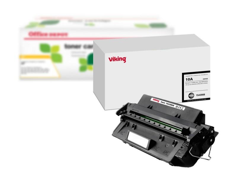 Office Depot Kompatibel HP 10A Tonerkartusche Q2610A Schwarz