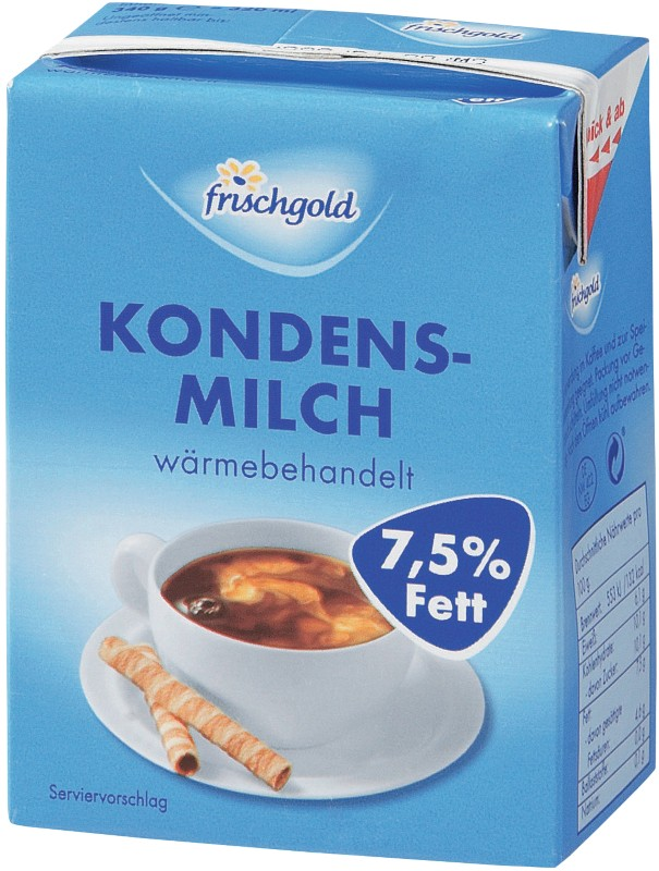 Frischgold Kaffeesahne 7.5 % 340 g
