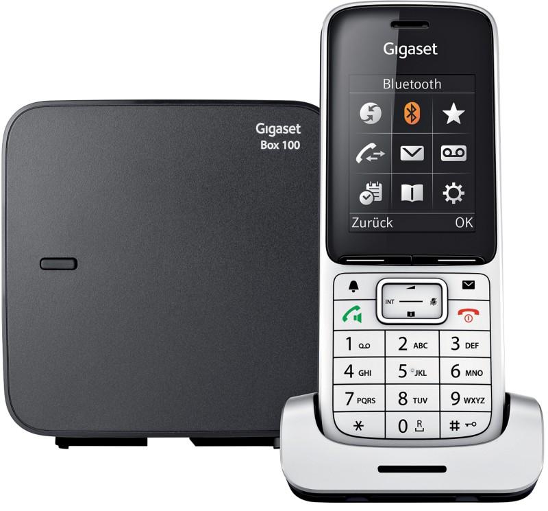 Vorschaubild von Gigaset Telefon SL 450 Schwarz silber