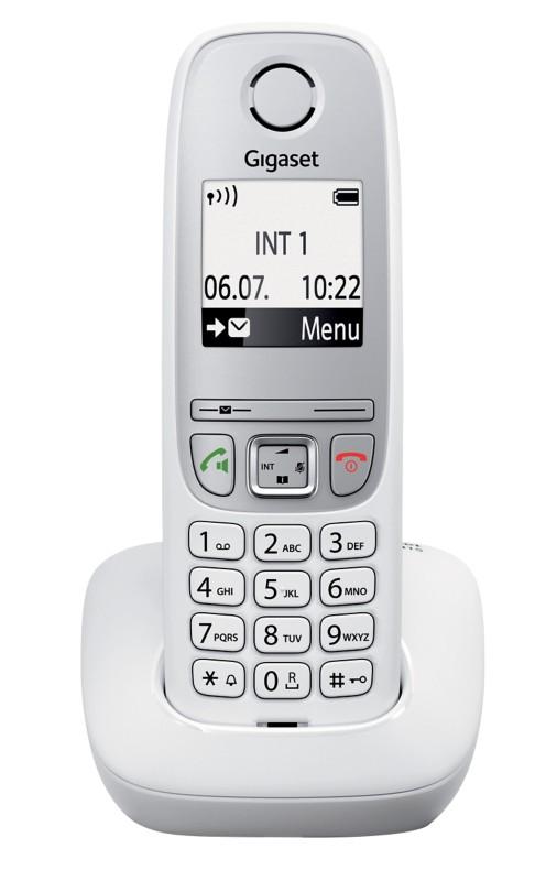 Gigaset DECT Telefon A415 Weiß
