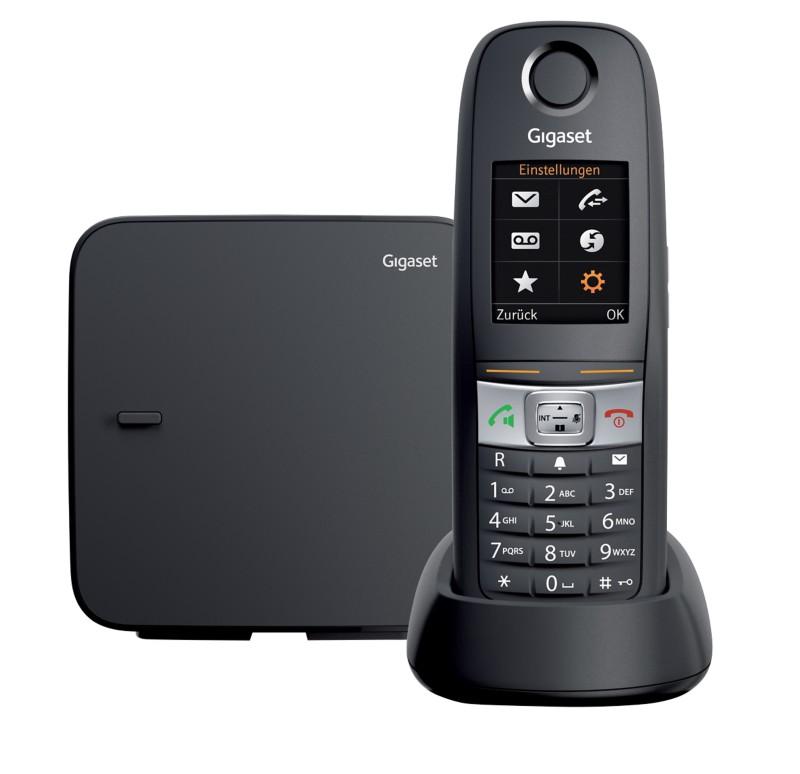 Vorschaubild von Gigaset DECT Telefon E630 Schwarz
