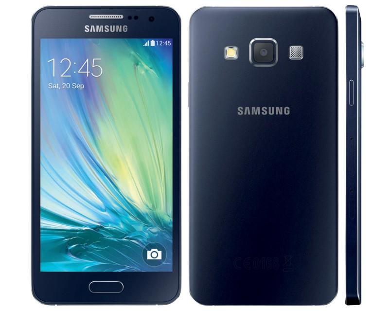 Samsung Smartphone Galaxy A3 A300 16GB Schwarz