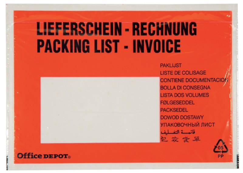 Office Depot Dokumenten- und Lieferscheintasche...