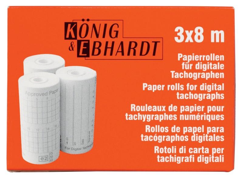 König & Ebhardt Box Thermopapier-Rollen Für Fah...