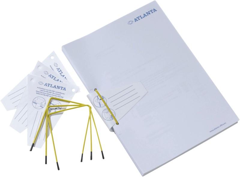 Jalema Archivbinder Pli-Fix/2639801000 gelb Inh...