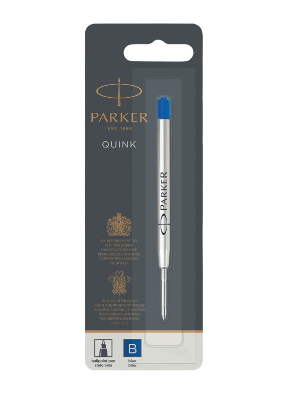 Parker Kugelschreibermine Quink Blister Blau