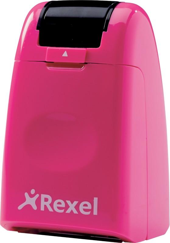 Rexel Tintenrollstempel ID Guard Pink