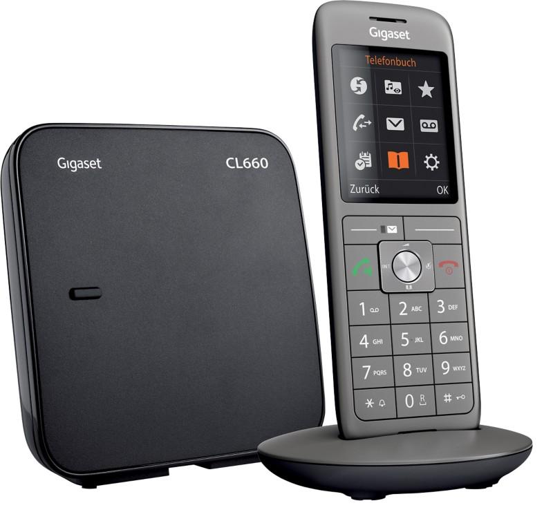 Vorschaubild von Gigaset Telefon CL660 Anthrazit