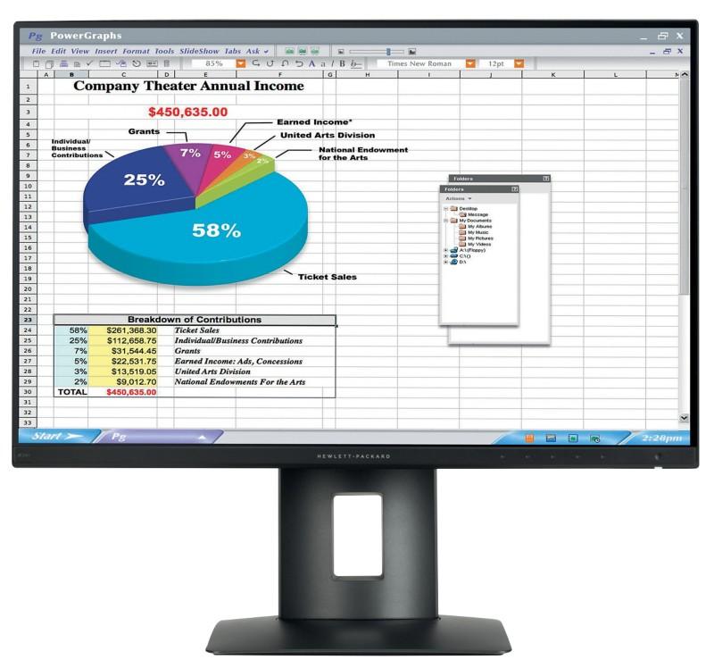Vorschaubild von HP LCD-Monitor Z24n 61 cm (24 )