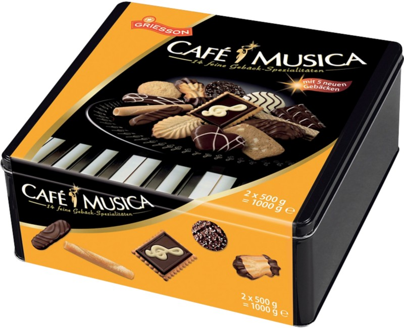 Griesson Biscuits Musica