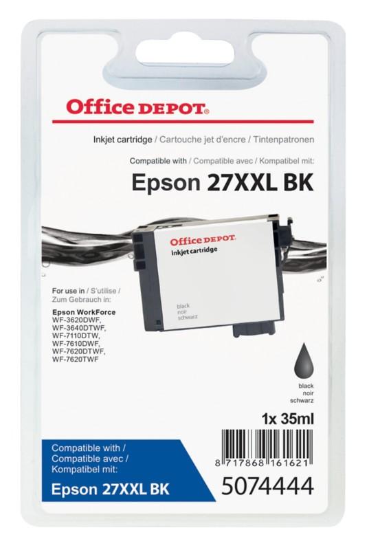 Vorschaubild von Office Depot Kompatibel Epson 27XXL Tintenpatrone T279140 Schwarz
