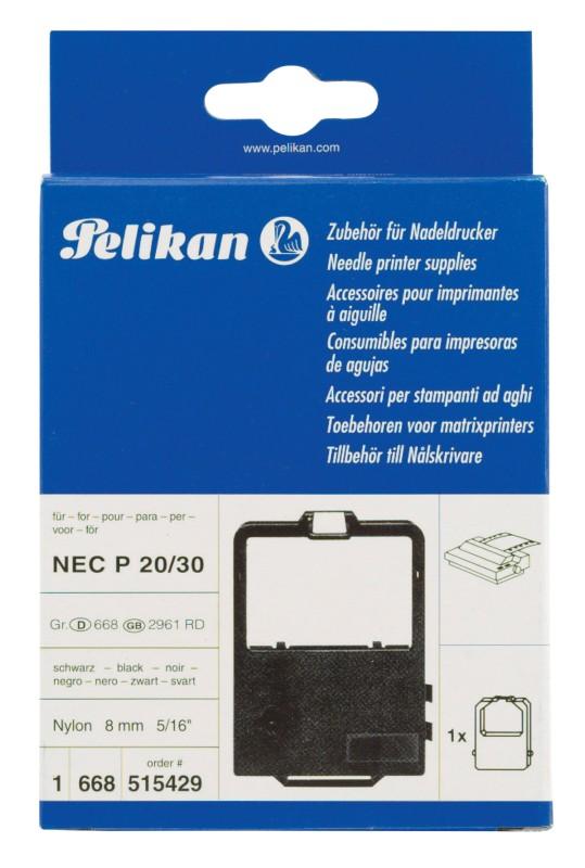 Pelikan Farbband 515429 8 2 mm x 1 8 m Schwarz