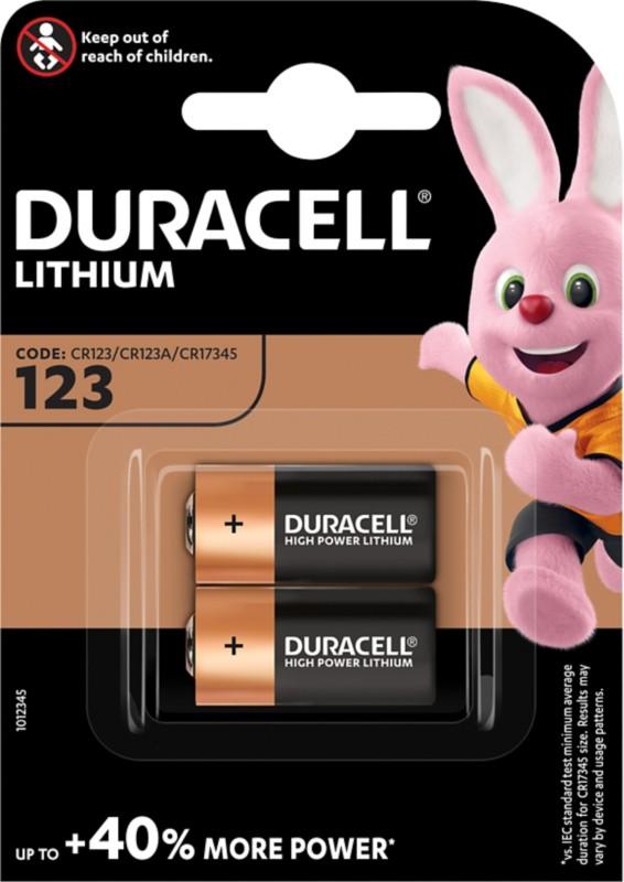 Duracell Photobatterie/ DUR020320 Ultra Photo CR123A Inh. 2 Stück