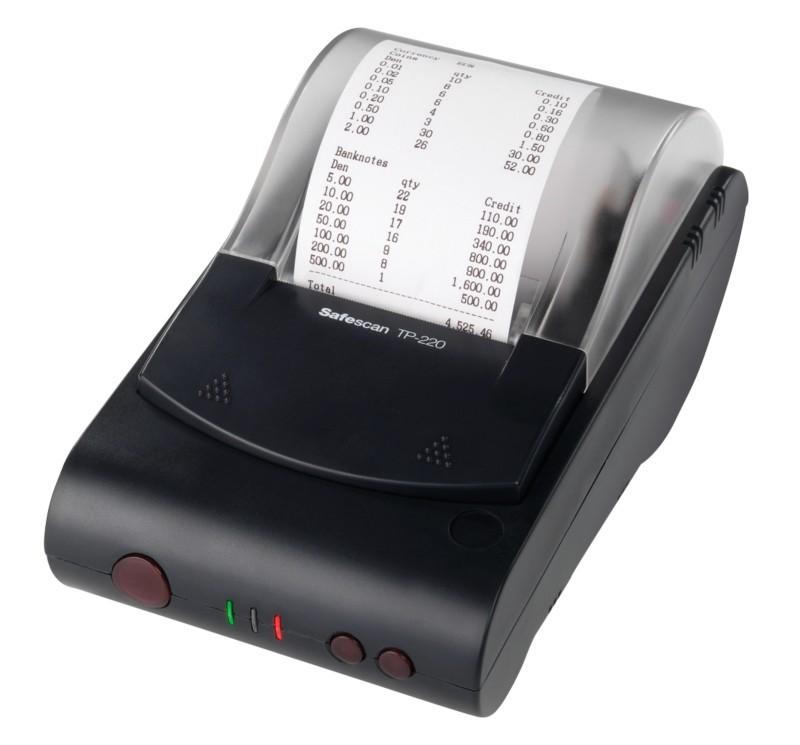 Vorschaubild von Safescan Thermodrucker TP-220 Schwarz