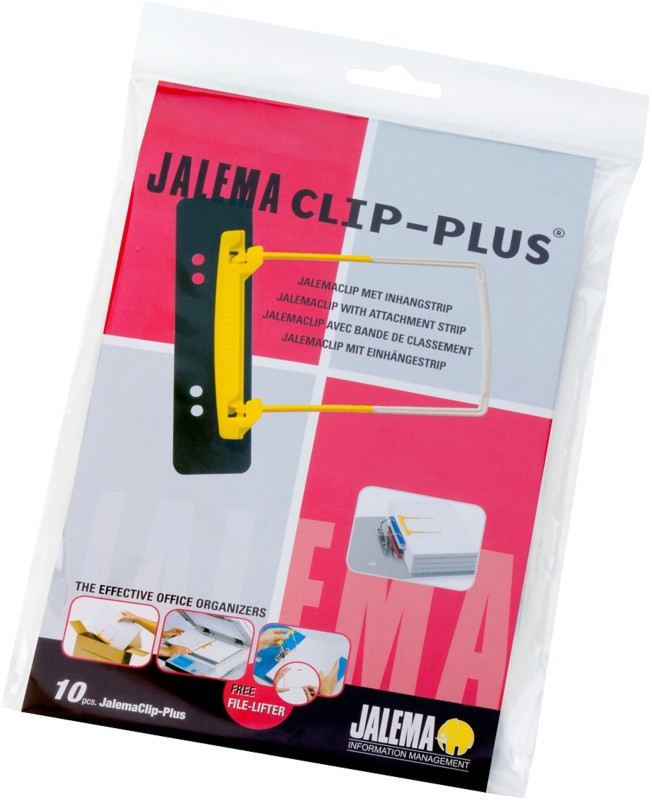 Jalema Heftmechanik Clip Plus/5712600 gelb/weiß...
