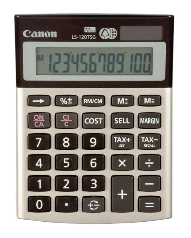 Vorschaubild von Canon Tischrechner LS-120TSG Golden