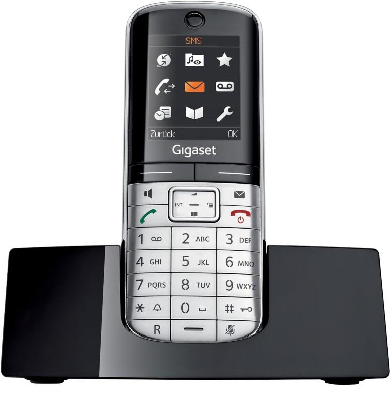 Vorschaubild von Gigaset Telefon SL400H Schwarz