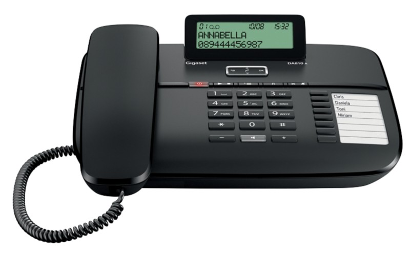 Vorschaubild von Gigaset Telefon DA810A Schwarz