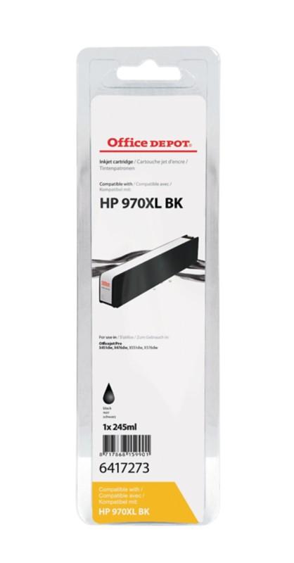 Office Depot Kompatibel HP 970XL Tintenpatrone CN625AE Schwarz