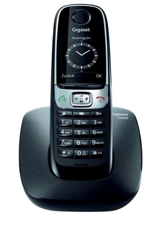 Vorschaubild von Gigaset DECT Telefon C620 Schwarz