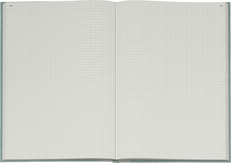 K+E Geschäftsbuch DINA4 / 8614224-600P192 hellblau kariert Inh.  bei Viking - Büroartikel