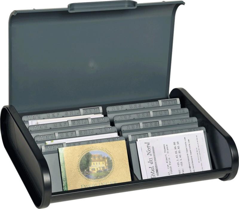 Exacompta Trennplatten für Visitenkartenbox 068...