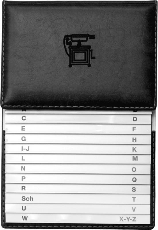 Veloflex elefonschuppenregister/5157780 schwarz...