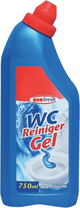 ORO-fresh WC-Reiniger Gel Meeresfrische/ 1015 gegen Kalk Inhalt 0 75 L