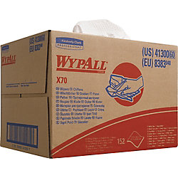 Kimberly-Clark Wischtücher X70 WYPALL/ 8383 31 x 42 cm weiß Inh. 150 Stück