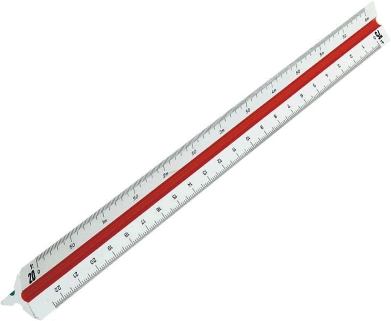 Rumold Präzisions-Dreikantmaßstab 160 160/DIN/3...