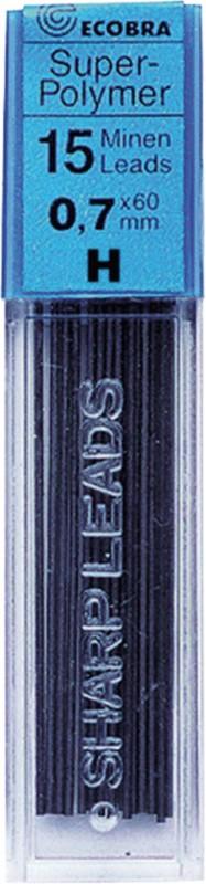 Ecobra Feinminen 0 7mm H/837703 Härtegrad H Inh...