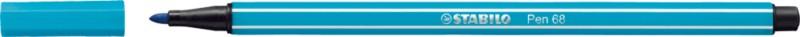 Stabilo Pen 68 Fasermaler/68-31 hellblau 1 mm